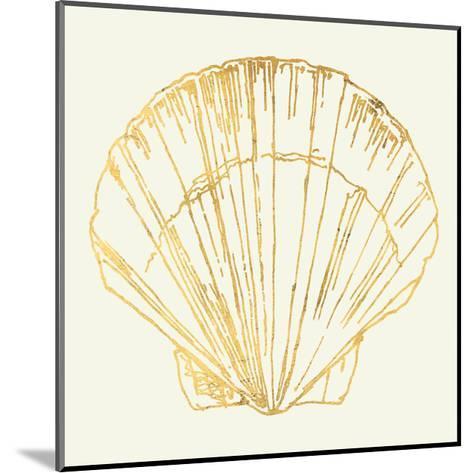 Coastal Breeze Shell Sketches V-Anne Tavoletti-Mounted Art Print