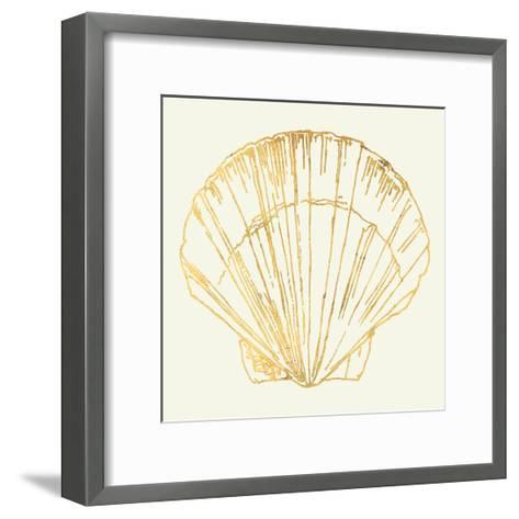 Coastal Breeze Shell Sketches V-Anne Tavoletti-Framed Art Print