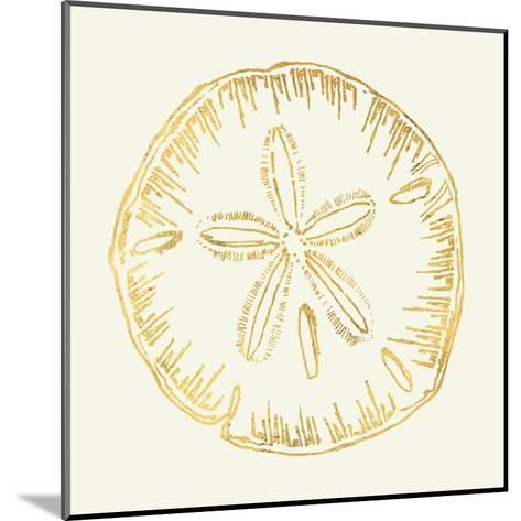 Coastal Breeze Shell Sketches IV-Anne Tavoletti-Mounted Art Print