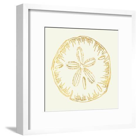 Coastal Breeze Shell Sketches IV-Anne Tavoletti-Framed Art Print