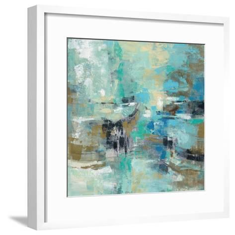 Fjord Reflections-Silvia Vassileva-Framed Art Print