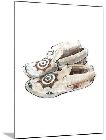 Indian Moccasins-Avery Tillmon-Mounted Art Print