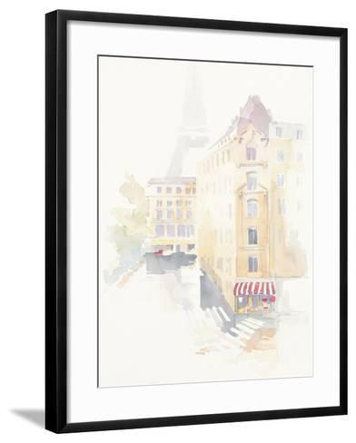 Paris Crosswalk-Avery Tillmon-Framed Art Print
