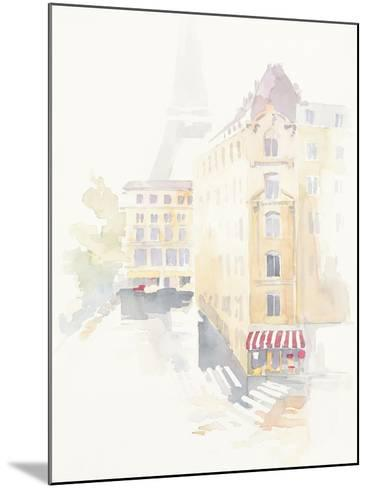 Paris Crosswalk-Avery Tillmon-Mounted Art Print