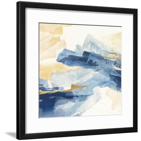 Gilded Indigo I-Chris Paschke-Framed Art Print