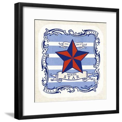 On the Coast Border IV- Studio Mousseau-Framed Art Print