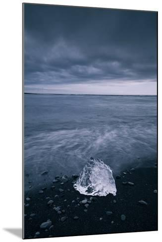 Ice Shore Mood, Glacier Lagoon Iceland-Vincent James-Mounted Photographic Print