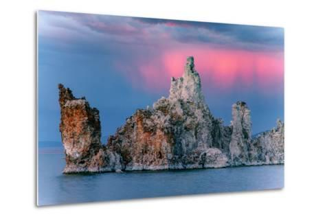 Sunrise Storm Mono Lake, Eastern Sierras, California-Vincent James-Metal Print