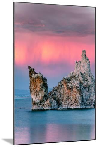 Sunrise Ship Storm Mono Lake, Eastern Sierras, California-Vincent James-Mounted Photographic Print