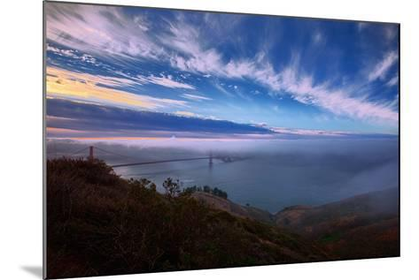 Ethereal Entrance to the Bay, Golden Gate, San Francisco California-Vincent James-Mounted Photographic Print