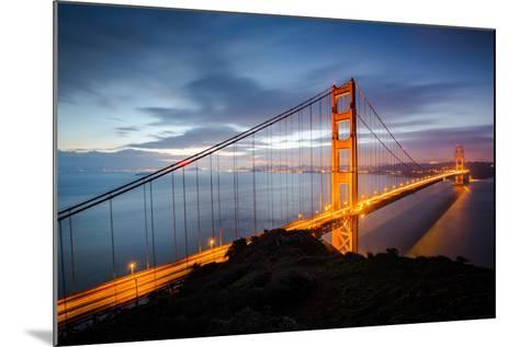 Classic Good Morning View Golden Gate Bridge San Francisco-Vincent James-Mounted Photographic Print