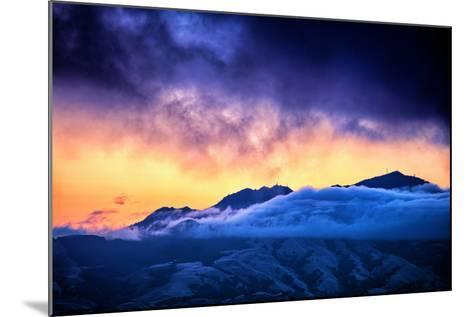 Moody Light Storm, Mount Diablo, Easy Bay, Oakland California-Vincent James-Mounted Photographic Print