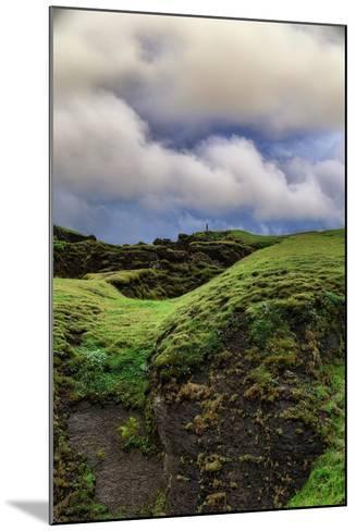 Canyon Walk, Fjaðrárgljúfur Southern Iceland Summer-Vincent James-Mounted Photographic Print