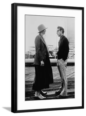 Woody Allen, Diane Keaton, Annie Hall, 1977--Framed Art Print