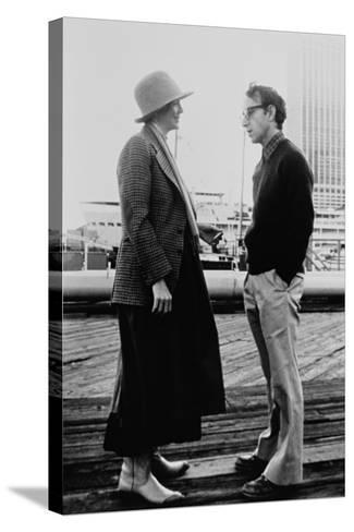 Woody Allen, Diane Keaton, Annie Hall, 1977--Stretched Canvas Print