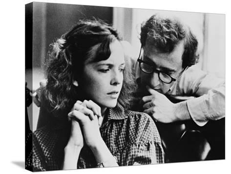 Woody Allen, Diane Keaton, Interiors, 1978--Stretched Canvas Print