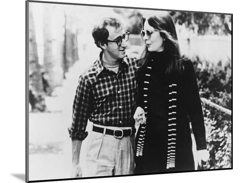 Woody Allen, Diane Keaton, Annie Hall, 1977--Mounted Photographic Print