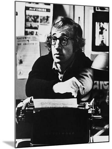 Woody Allen, Play it Again, Sam, 1972--Mounted Photographic Print