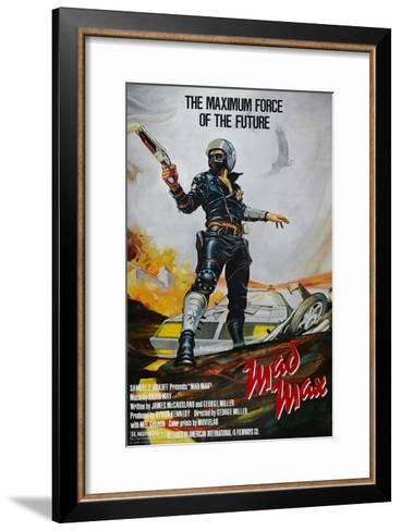 Mad Max, 1979--Framed Art Print