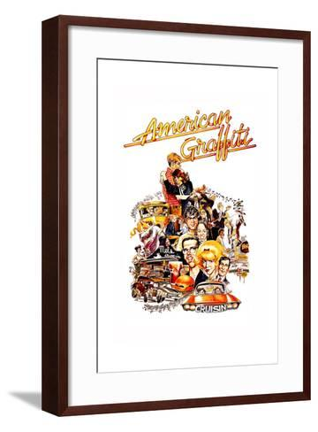 American Graffiti, 1973--Framed Art Print