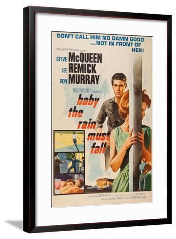Baby, the Rain Must Fall, 1965--Framed Art Print