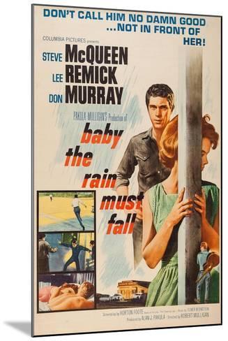 Baby, the Rain Must Fall, 1965--Mounted Giclee Print
