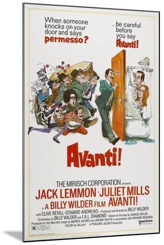 Avanti!, 1972--Mounted Giclee Print