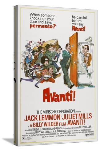 Avanti!, 1972--Stretched Canvas Print
