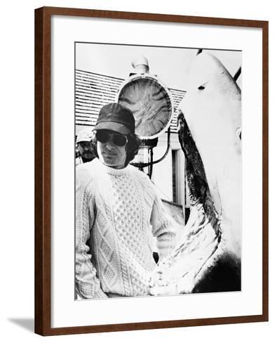 Steven Spielberg, Jaws, 1975--Framed Art Print