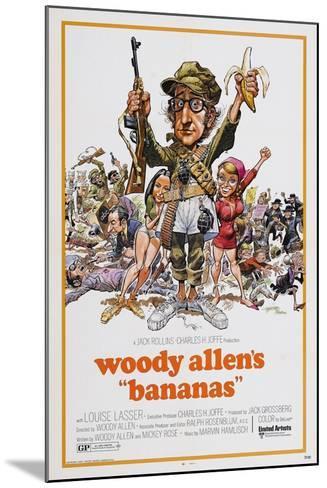 Bananas, 1971--Mounted Giclee Print