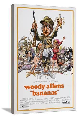 Bananas, 1971--Stretched Canvas Print