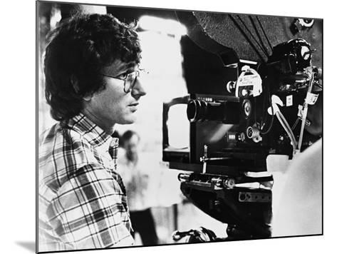 Steven Spielberg, Close Encounters of the Third Kind, 1977--Mounted Photographic Print