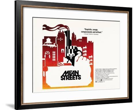 Mean Streets, 1973--Framed Art Print