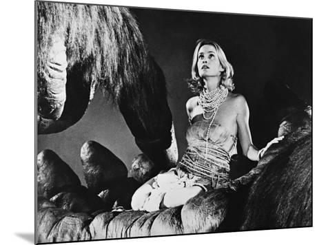 Jessica Lange, King Kong, 1976--Mounted Photographic Print