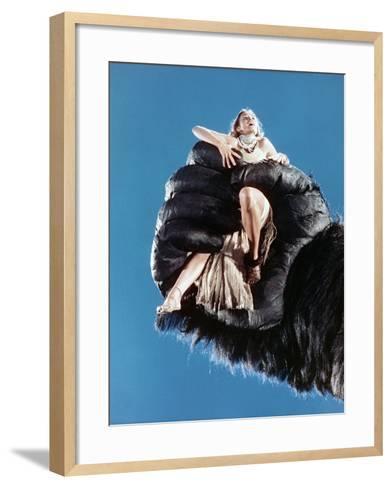 Jessica Lange, King Kong, 1976--Framed Art Print
