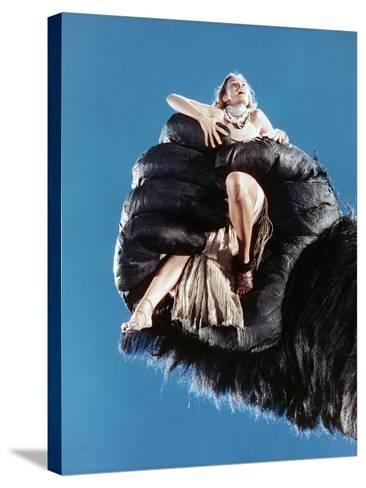 Jessica Lange, King Kong, 1976--Stretched Canvas Print