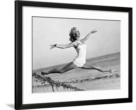 Vera-Ellen--Framed Art Print