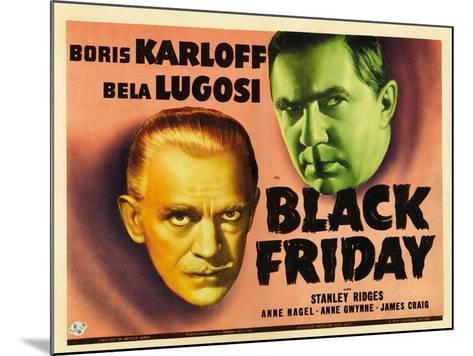 Bela Lugosi, Black Friday, 1940--Mounted Giclee Print