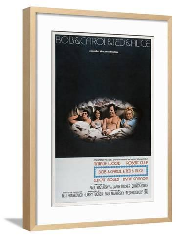 Bob and Carol and Ted and Alice, 1969--Framed Art Print