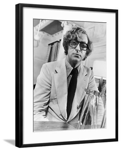 Michael Caine, Pulp, 1972--Framed Art Print