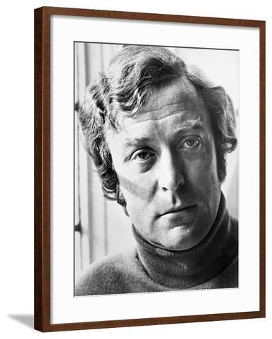 Michael Caine, the Romantic Englishwoman, 1975--Framed Art Print
