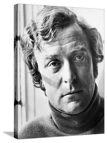Michael Caine, the Romantic Englishwoman, 1975--Stretched Canvas Print
