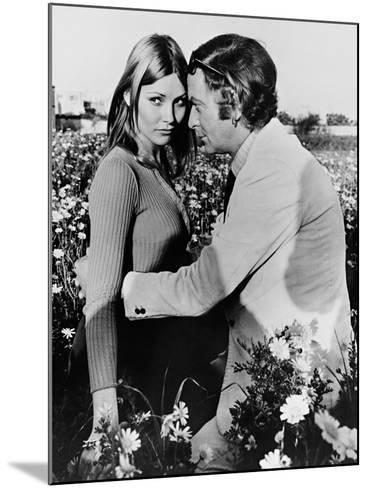 Michael Caine, Janet Agren, Pulp, 1972--Mounted Photographic Print
