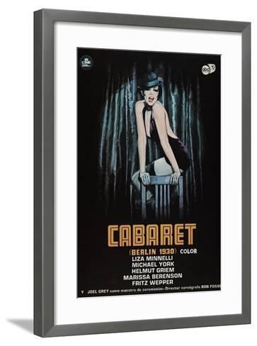 Cabaret, 1972--Framed Art Print