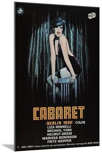 Cabaret, 1972--Mounted Giclee Print