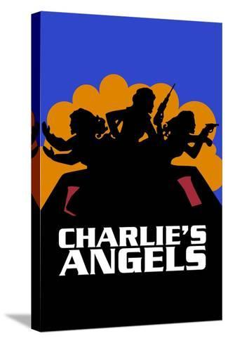Charlies Angels, 1976--Stretched Canvas Print