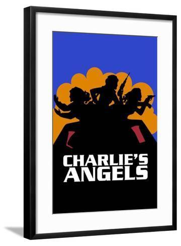 Charlies Angels, 1976--Framed Art Print
