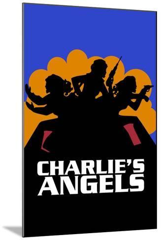 Charlies Angels, 1976--Mounted Giclee Print