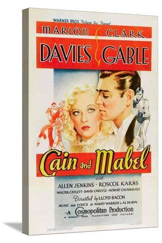 Cain and Mabel, 1936--Stretched Canvas Print