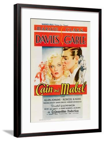 Cain and Mabel, 1936--Framed Art Print